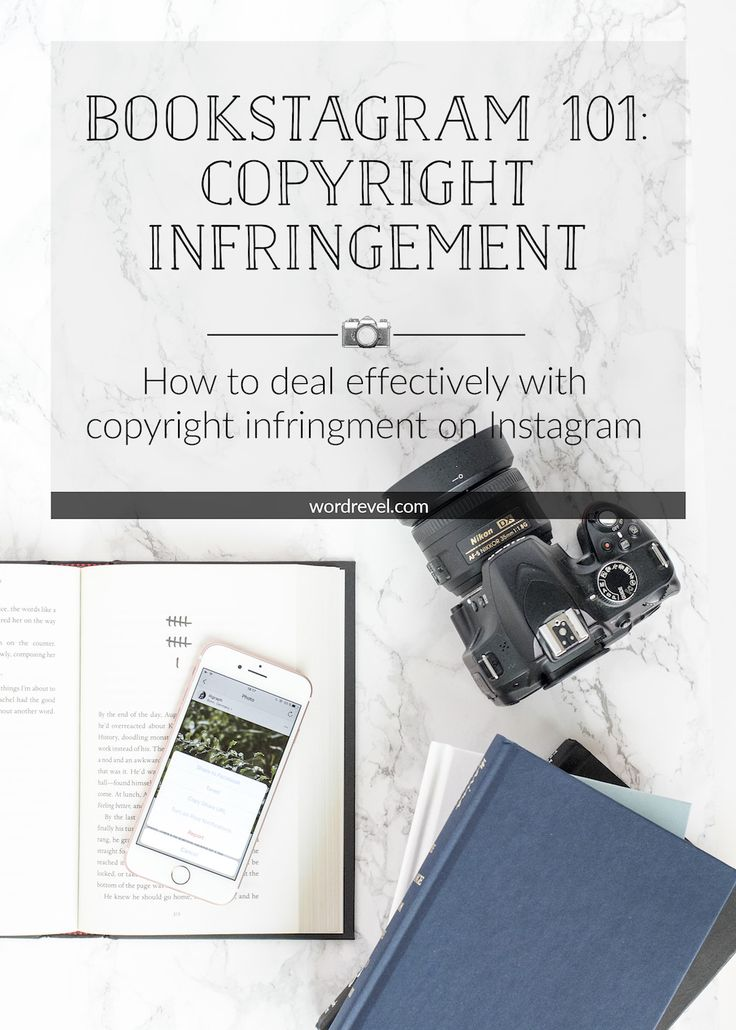 Bookstagram 101: Dealing with Copyright Infringement