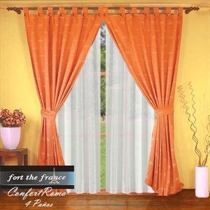 cortinas dobles