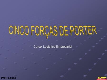 Prof. Sousa Curso: Logística Empresarial. Grupo Liga da Logística LEANDRO ANDRADE MIRANDA RA.: LEANDRO APARECIDO DOS R. RIBEIRO RA.: