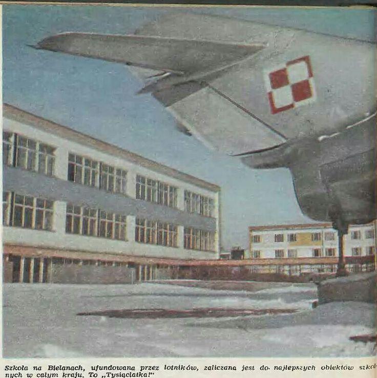 Szkola na bielanach 1978