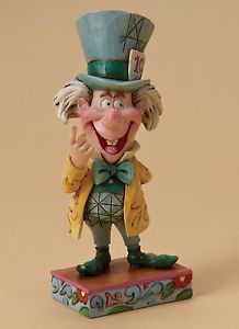*MAD HATTER ~ Jim Shore-Disney-Traditions-The-Mad-Hatter-Mad-Cap-Mayhem-NEW-IN-BOX-15430