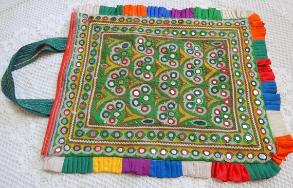 MOTHER'S DAY gift  Vintage Kutch Embroidered by uDazzleSupplies