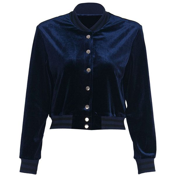 Navy Letter Print Back Cropped Bomber Jacket (2.255 RUB) ❤ liked on Polyvore featuring outerwear, jackets, navy jackets, letter jacket, blouson jacket, navy blue bomber jacket and blue jackets