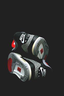 Nike Air heels on Jordan 3's. #sneakers New Hip Hop Beats Uploaded EVERY SINGLE DAY http://www.kidDyno.com