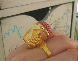 Картинки по запросу игольница кольцо на палец