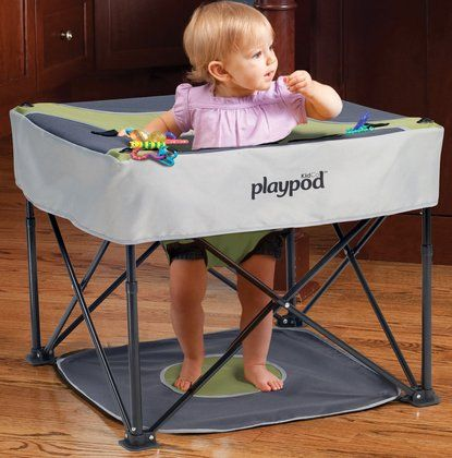 The GoPod would be great for the beach too.  For a smaller child under your big family tent.