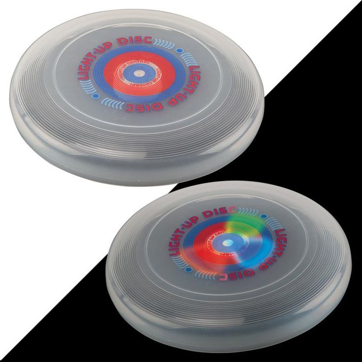 DMI Sports Glo-Bright Light Up Flying Disc - TG250