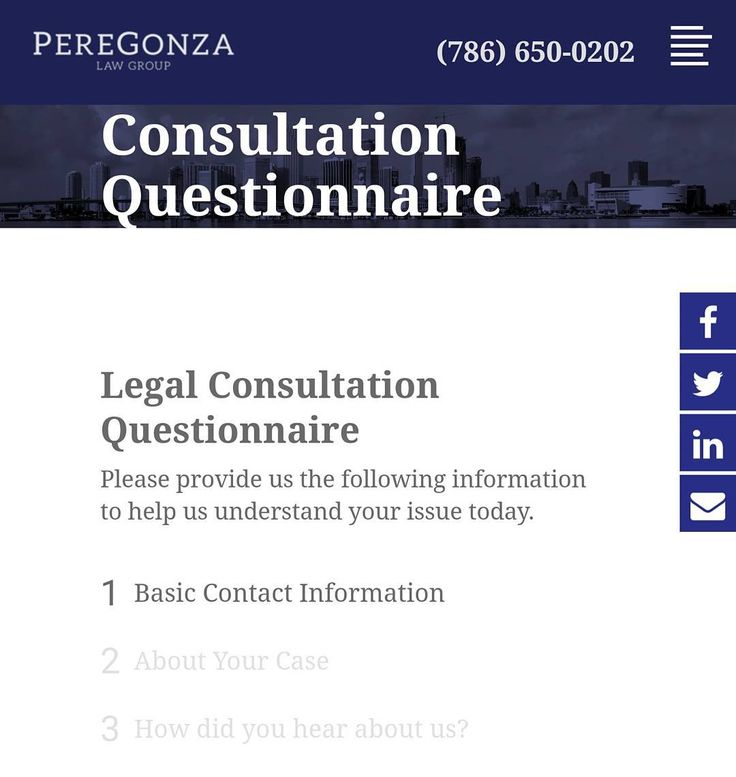 Need a lawyer? Fill out our quick and easy questionnaire online or through your mobile phone and schedule your FREE consultation with one of our qualified attorneys today!  #doralattorneys #attorney #lawyer #legaladvice #divorcelawyer #businessattorney #immigrationlawyer #FamilyLaw #childsupport #childcustody #trademark #Patent #businessregistration #contracts  http://ift.tt/2hHv6JE