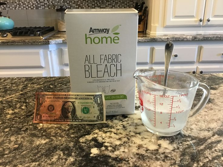 All Fabric Bleach Amway home