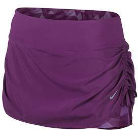 #Nike skirt stretch woven paars dames bij Hardloopaanbiedingen.nl #hardlopen #hardlooprokje