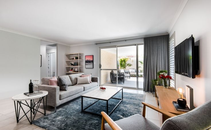 The living area is the perfect place to watch your favourite TV show or curl up with a good book