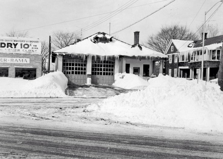 Old North Utica Firehouse 1950's oneidacountyny Vintage