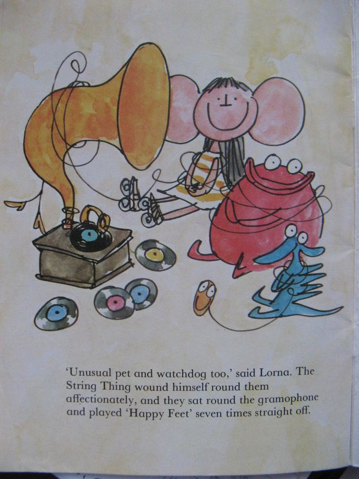 Flap-eared-Lorna from Lester and the Unusual pet by Quentin Blake, 1975