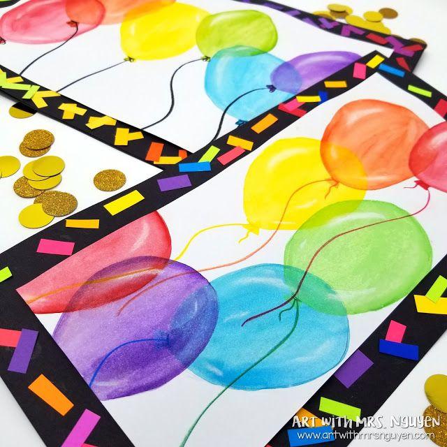 Color Mixing Ballons