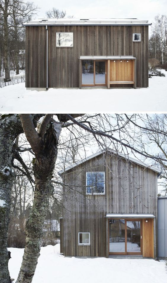 Scandinavian Small House Design: 19 Examples Of Modern Scandinavian House Designs