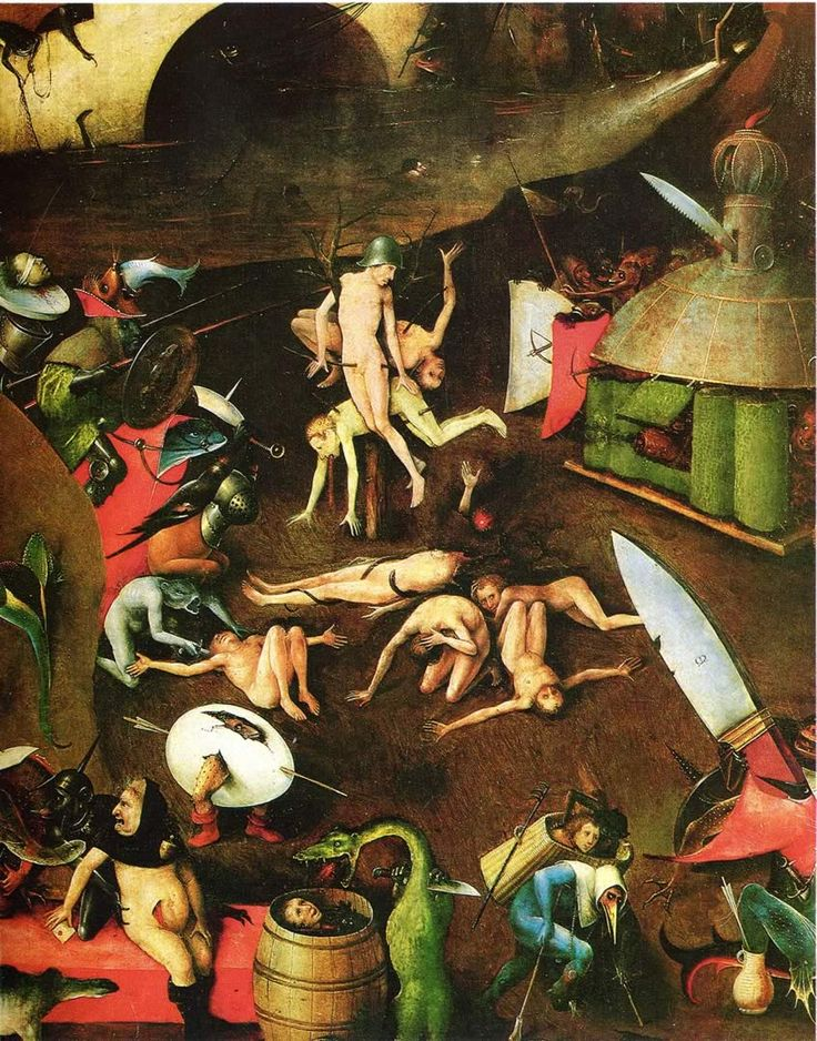 Hieronymus Bosch Last Judgement Szczegóły 2