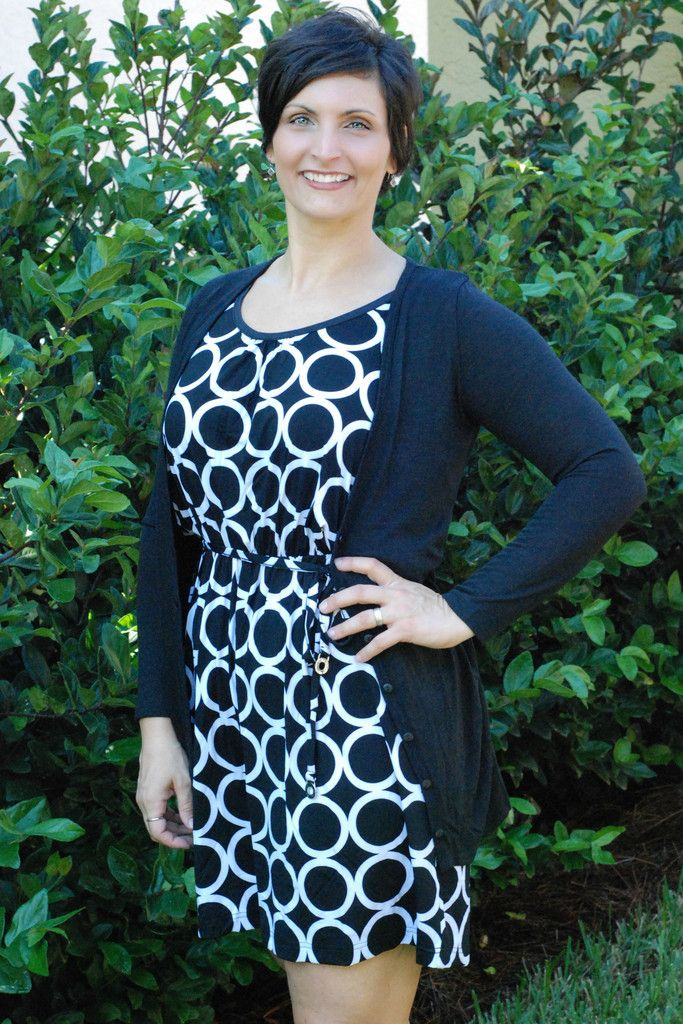 LIKE IT, LOVE IT - XL - Black & White Dress - Shop Simply Me Boutique – Simply Me Boutique