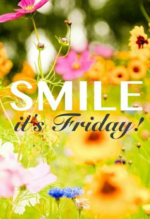 Yeah it's Friday!  Have a good weekend everyone! God bless you all!