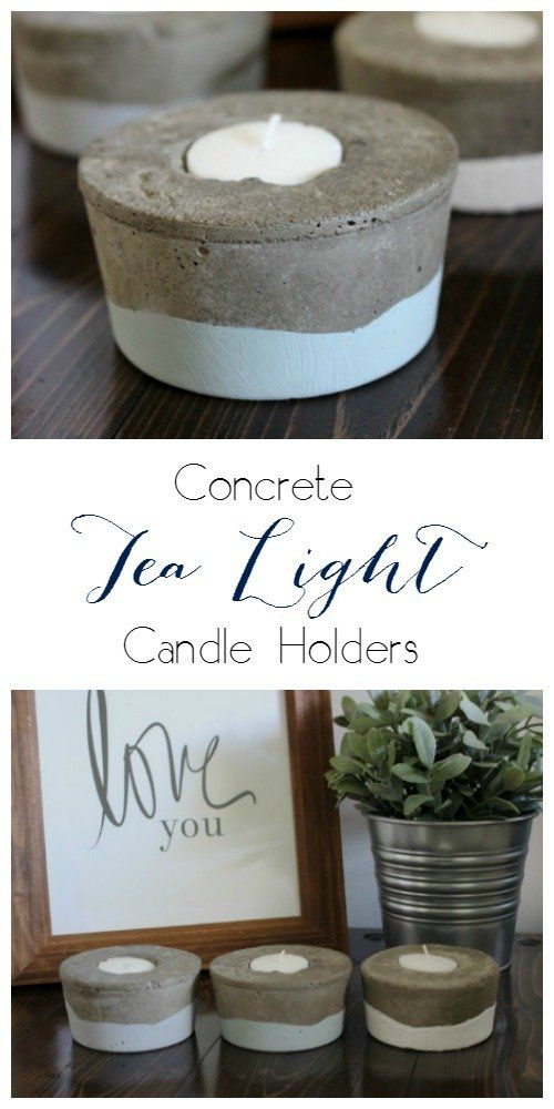 254 best craft ideas images on pinterest craft ideas for Kitchen cabinets lowes with tin can candle holders