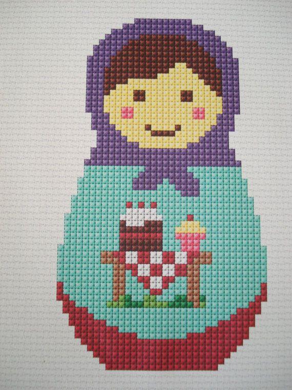 Cupcake Babushka pattern by cupcakecutie1