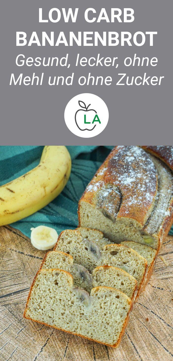 Low Carb Protein Bananenbrot – Leckeres Rezept ohne Mehl und ohne Zucker