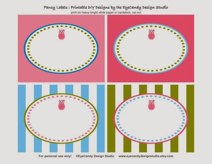 Organize sem Frescuras | Rafaela Oliveira » Arquivos » Volta às aulas: etiquetas personalizadas para imprimir