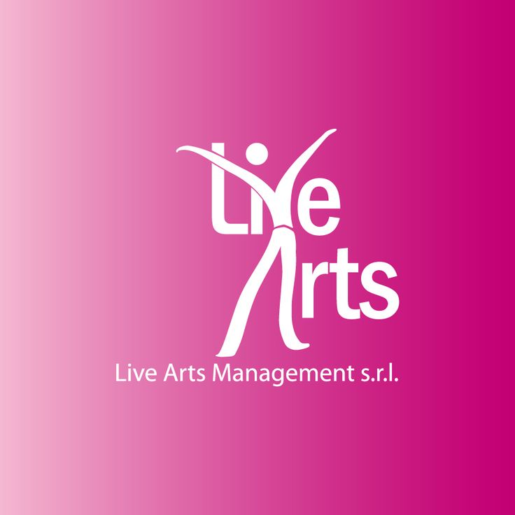 Live Arts Management Logo #agency #theatre #dance #graphic #logo