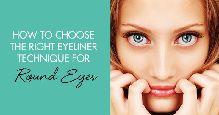 How to Choose the Right Eyeliner Technique for Round Eyes  @sglodde