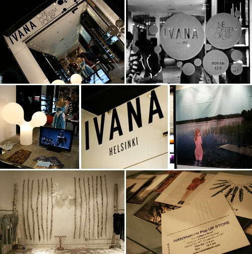 Ivana Helsinki store opening in New York CIty!