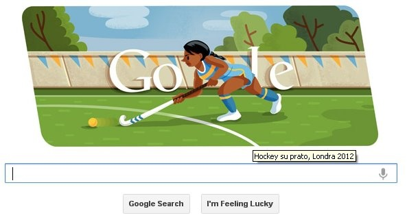 Doodle Hockey su Prato Londra 2012 @LAB4IT #london2012