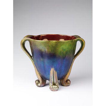 Zsolnay Ceramic Vase c.1900