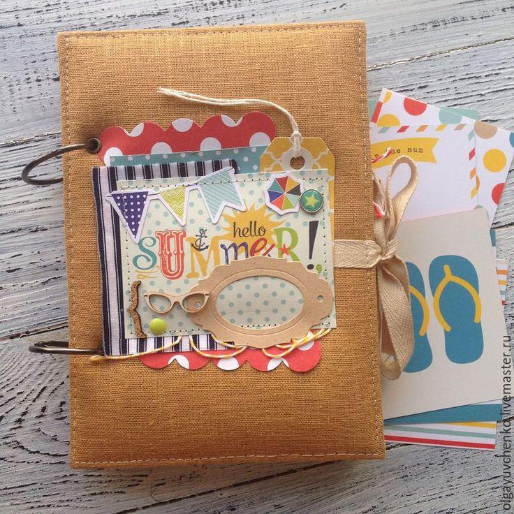 Купить Блокнот для путешествий - для путешествий, тревелбук, альбом на кольцах, блокнот ручной работы, travel book