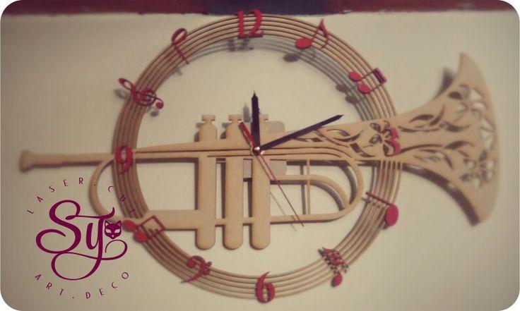 Tu #instrumento favorito lo podemos convertir en una hermosa #decoración!! #Trompeta. #Jazz, #Música.