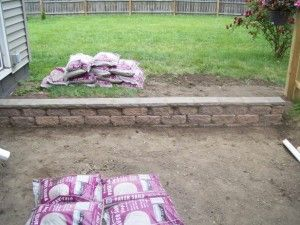 how to build a small retaining wall more