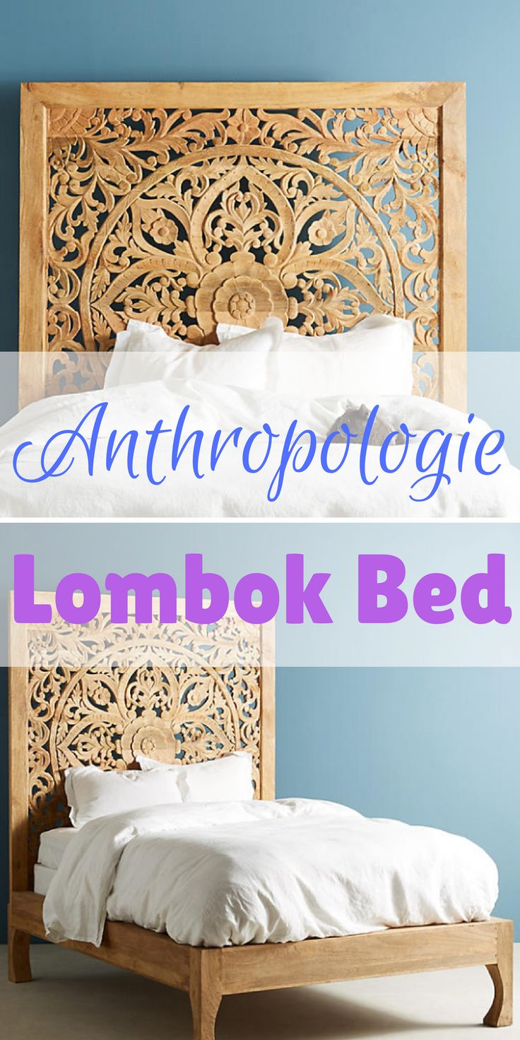 An Incredibly Stylish Anthropologie Lombok King Sized Bed (Affiliate)  Http://shopstyle.it/l/ryz Bedroom Ideas, Bedroom Ideas Master, Bedroom Ideas  For Women ...