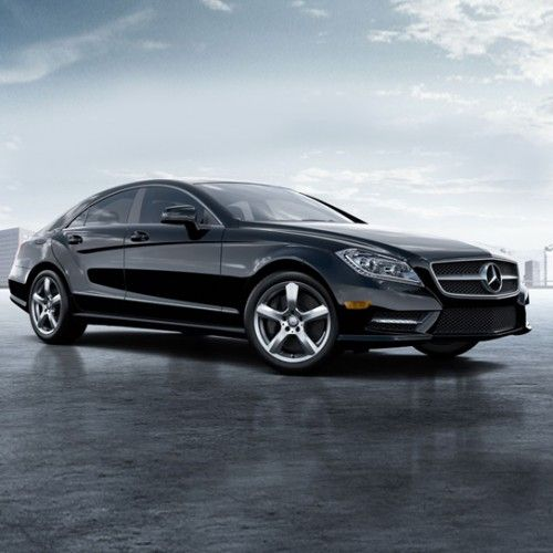 Liev schrieber drives this in the showtime series ray for Mercedes benz cls series