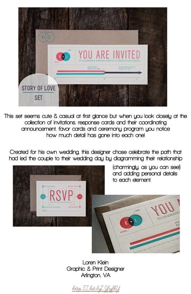 Invitation inspiration - creative wedding invites