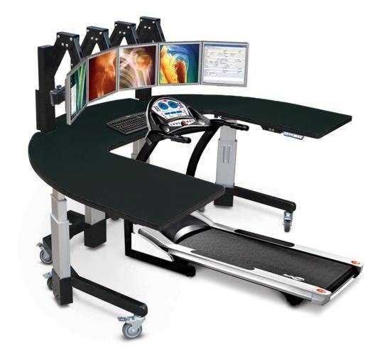 Treadmill Desk Fitbit