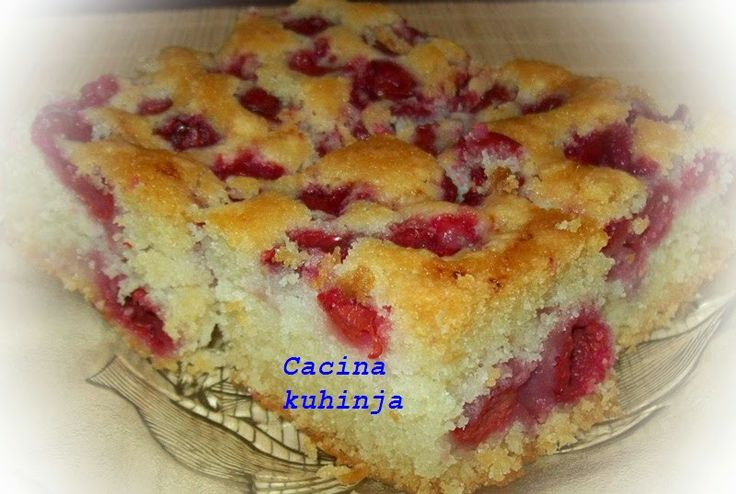 Cacina kuhinja: Posni kolac sa visnjama