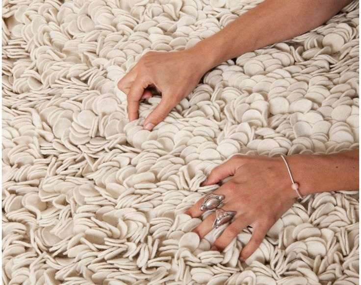 Filttepper i 100% ull er kjempemyke og behagelige.