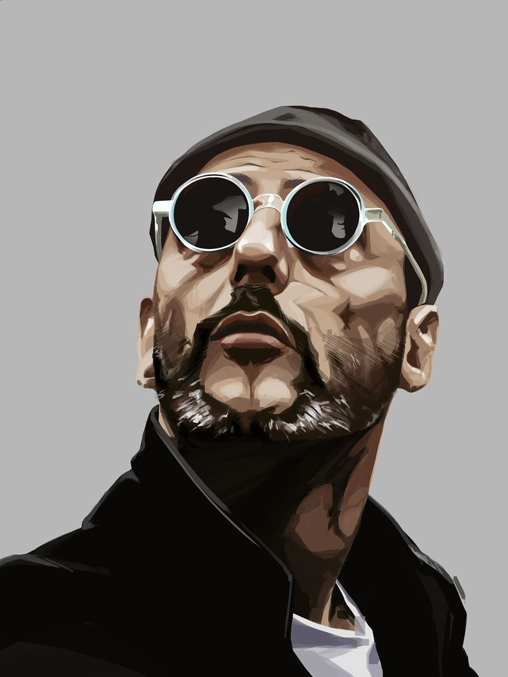 #digitalportrait #portrait #jeanreno #leon #digitalart  randome shuffle portrait no.1. leon the professional, played by jean reno. done in photoshop.