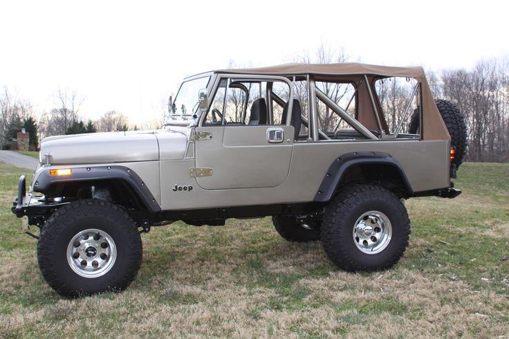 85 Jeep Scrambler.