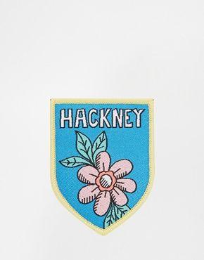 Rosie Wonders Hackney Iron On Patch