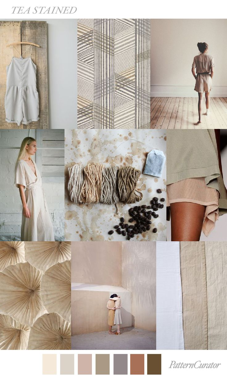 TREND_TEA STAINED by PatternCurator | Saved by Gabby Fincham |