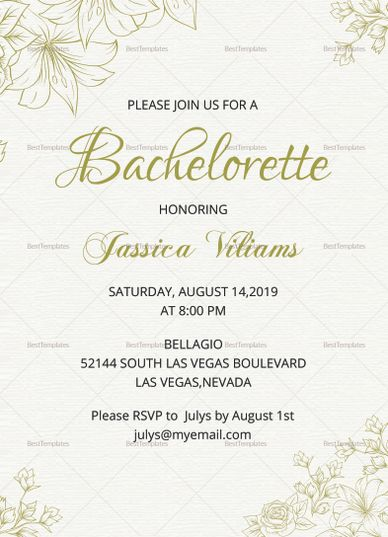 Best Invitation Card Templates Images On   Paper