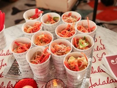 "Noodle Salad (Christmas Sing-a-long) - Giada De Laurentiis, ""Giada's Holiday Handbook"" on the Food Network."