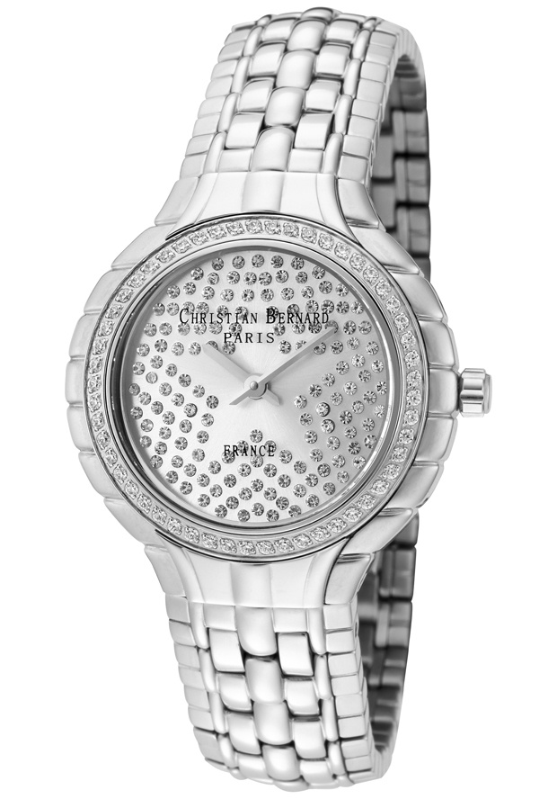 Price:$197.19 #watches Christian Bernard NA368ZAW3, Collection exclusively dedicated to ladies who are looking for elegant jewellery watches