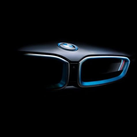 BMW i8 front grill
