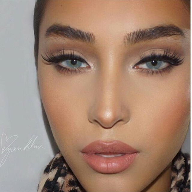 Amazing work by @xmaryamkhanx using our Concealer palette and Brush Set to achieve this look. We ship Worldwide  Link of our site in bio We ship round the Globe  Website: www.opvhair.com #opvlashes #opvbrushes #opvhair