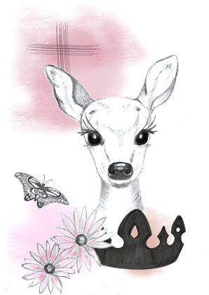 My deer - pink